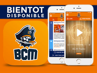 Application BCM bientôt disponible !