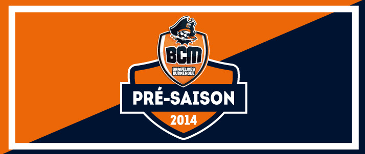 Découvrez le programme de la pré-saison 2014/2015 du BCM